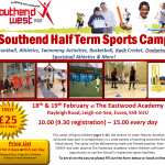 Spaces available for Half Term Sports Camp!