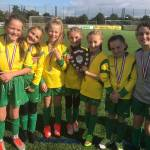 Fairways Football Girls win Gold