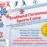 SWSSP Christmas Sports Camps Launched!