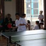 Talented Table Tennis Teams Tussle at Temple
