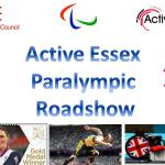 Active Essex Paralympic Roadshow's in town!