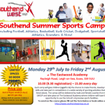 Spaces still available on Summer Sports Camp!