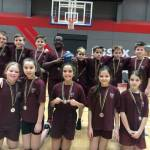 Earls Hall silver at Essex Finals Basketball